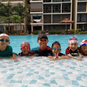 wandervale swimming lesson